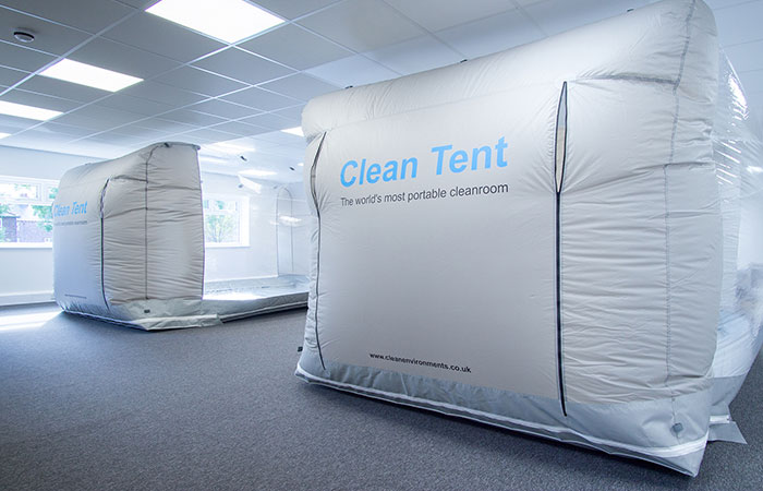 Two Clean Tent 750s