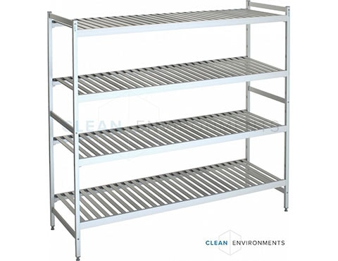 slatted shelves