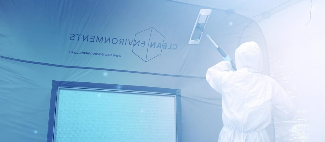How to clean a cleanroom